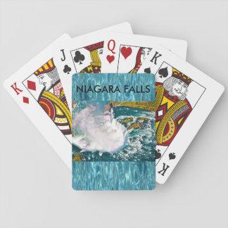 Baralho Plataforma de Niagara Falls de cartões de jogo