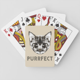 Baralho Plataforma de Purrfect de cartões