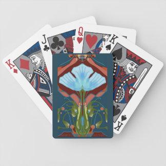 Baralho Plataformas de cartão do jogo da arte de Deco 1