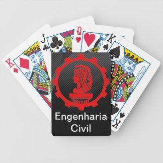 Baralho Poker Engenharia Civil Baralhos De Cartas