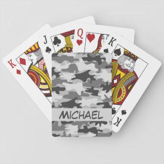 Baralho Póquer personalizado da camuflagem de Camo nome