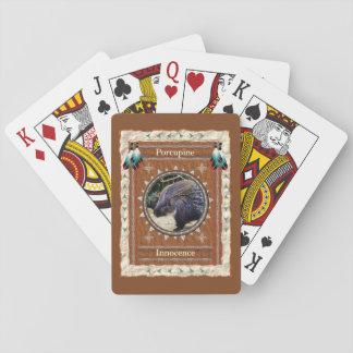 Baralho Porco- - cartões de jogo clássicos da inocência