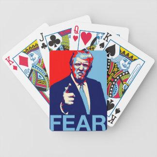 """Baralho Poster 2017 da paródia do """"medo"""" de Donald Trump"""