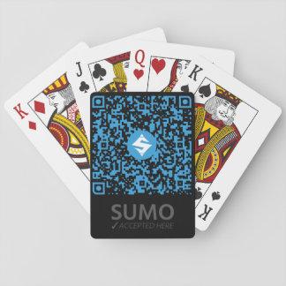 Baralho Preto dos QR-Cartões do SUMO