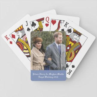 Baralho Príncipe Harry & casamento real 2018 de Meghan