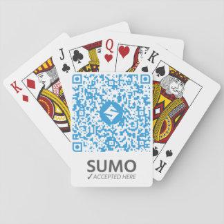 Baralho QR-Cartões do SUMO brancos
