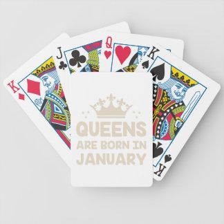 Baralho Rainha de janeiro
