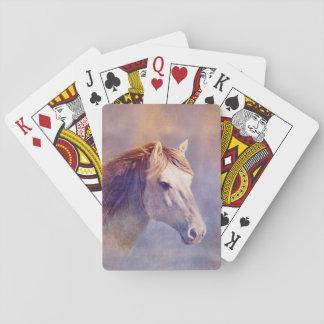 Baralho Retrato do cavalo