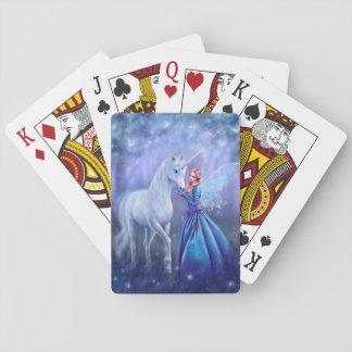 Baralho Rhiannon - unicórnio e cartões de jogo