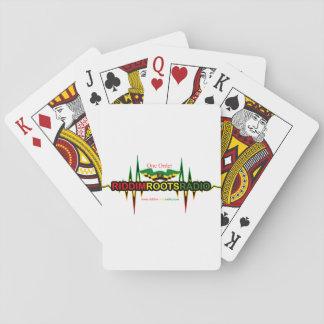 Baralho Riddim enraíza os cartões de rádio do póquer