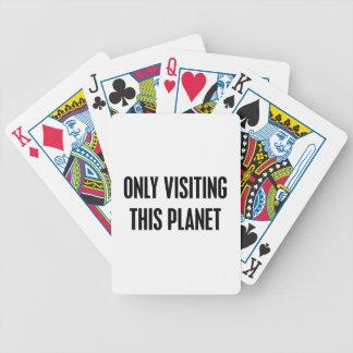 Baralho Somente visitando este planeta