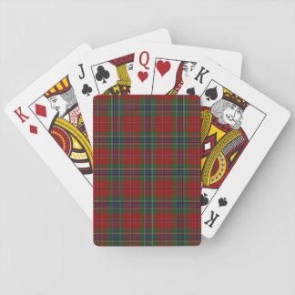 Baralho Tartan MacLean moderno escocês de Maclean de Duart