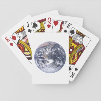 Baralho Terra do planeta do Dia da Terra do espaço