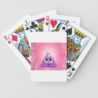 Baralho Tombadilho mágico personalizado Emoji do unicórnio