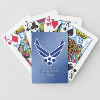 Baralho U.S. Cartões de jogo aposentados força aérea da