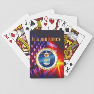 Baralho U.S. Cartões de jogo clássicos da força aérea