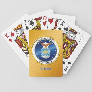 Baralho U.S. Cartões de jogo clássicos do veterano da