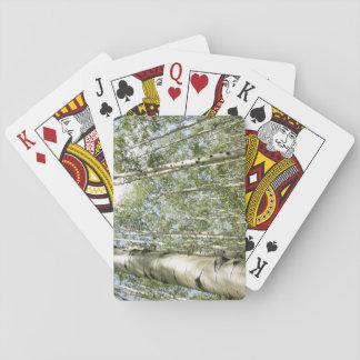 Baralho Um dia bonito nos cartões de jogo da floresta
