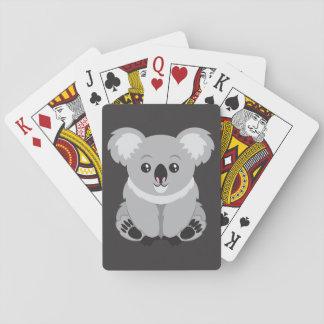 Baralho Urso de Koala bonito dos desenhos animados