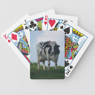 Baralho Vaca de leiteria preto e branco de Vermont