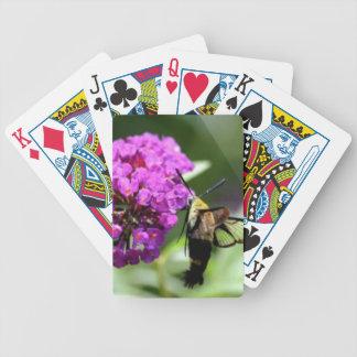 Baralhos De Poker Abelha em uma flor