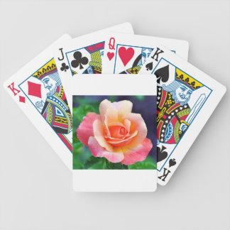 Baralhos De Poker Aperfeiçoe cor-de-rosa na flor