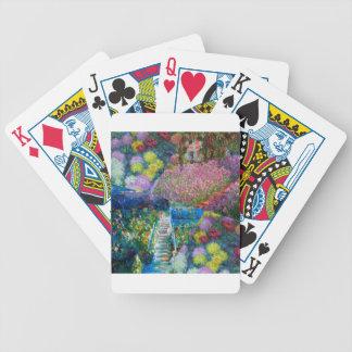 Baralhos De Poker As flores no jardim de Monet são originais
