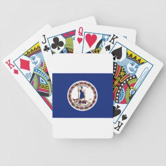 Baralhos De Poker Bandeira de Virgínia