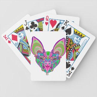 Baralhos De Poker Bastão psicadélico do arco-íris