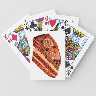 Baralhos De Poker Bolo de chocolate 4