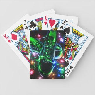 Baralhos De Poker Calçados abstratos
