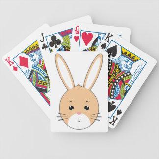 Baralhos De Poker Cara do coelho