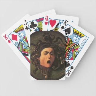 Baralhos De Poker Caravaggio - Medusa - trabalhos de arte italianos
