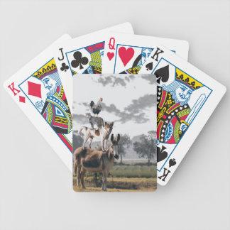 Baralhos De Poker Cartões de jogo animais parvos