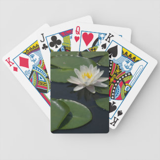 Baralhos De Poker Cartões de jogo das almofadas de lírio de Lotus