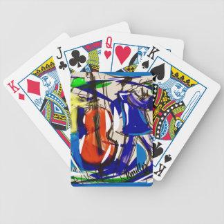 Baralhos De Poker Cartões de jogo do jazz do divertimento