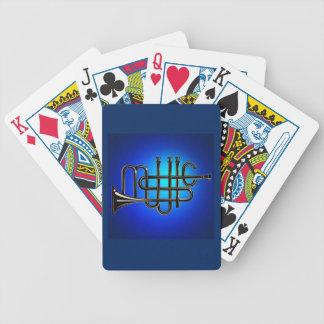 Baralhos De Poker Cartões de jogo do póquer de Bicycle® da música