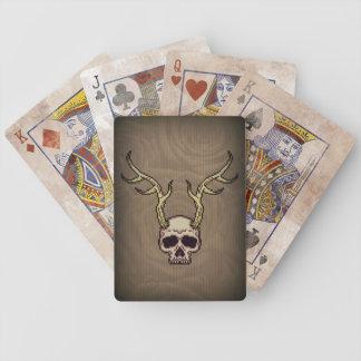 Baralhos De Poker Cartões de jogo Horned do póquer de Bicycle® do