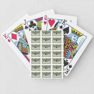 Baralhos De Poker Cassete de banda magnética da velha escola