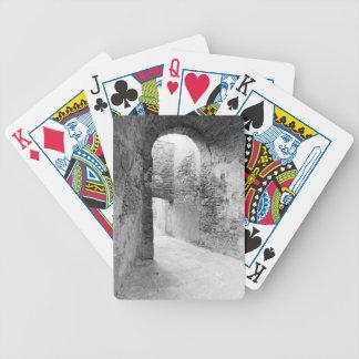 Baralhos De Poker Corredores escuros de uma estrutura velha do