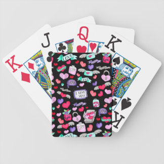 Baralhos De Poker Doodle bonito