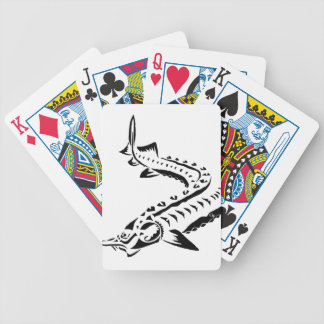 Baralhos De Poker Esturjão tribal - beluga de Huso