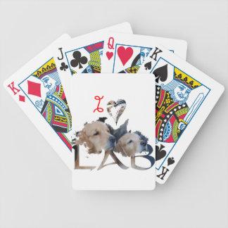 Baralhos De Poker Eu amo o laboratório