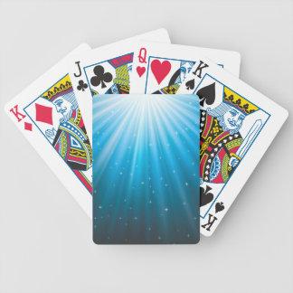Baralhos De Poker Feixe de Sun dos raios inspirado