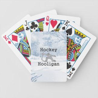 Baralhos De Poker Hooligan SUPERIOR do hóquei
