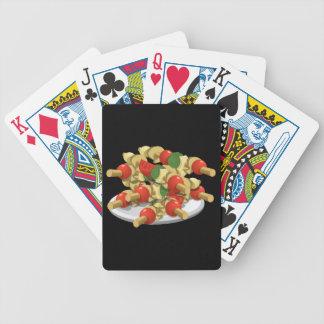 Baralhos De Poker Kebabs super do vegetariano da comida do pulso