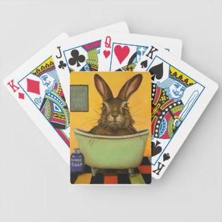 Baralhos De Poker Lave sua lebre