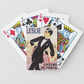 Baralhos De Poker Leslie!