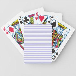 Baralhos De Poker Luz - riscas azuis