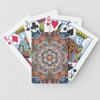 Baralhos De Poker Mandalas do coração da liberdade 25 presentes